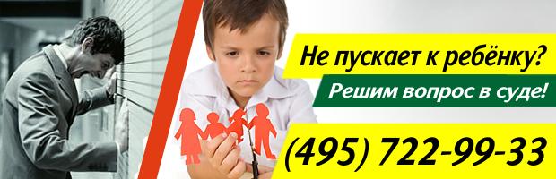 встречный иск об определении порядка общения с ребенком образец - фото 5